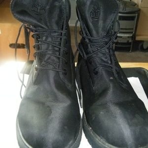 Timberland Boots Black Size 12